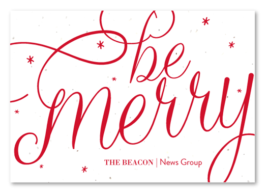 Script Business Holiday Cards