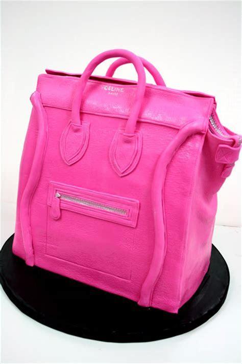 Birthday Cakes NJ   Pink Celine Purse Custom Cakes