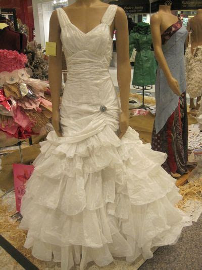 1000  images about Recycled material Dresses/Outfits on