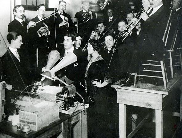Grabación acústica en París, 1913