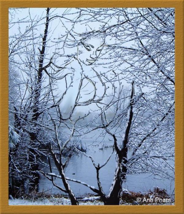 snow girl-newopticalillusions