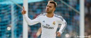 Jesé Rodríguez celebrando un gol (REAL MADRID)