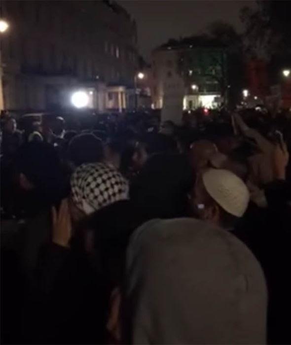 Islamic demo
