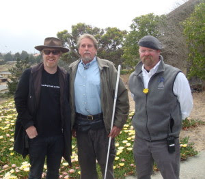 Jerry with Myth Busters hosts Jamie and Adam