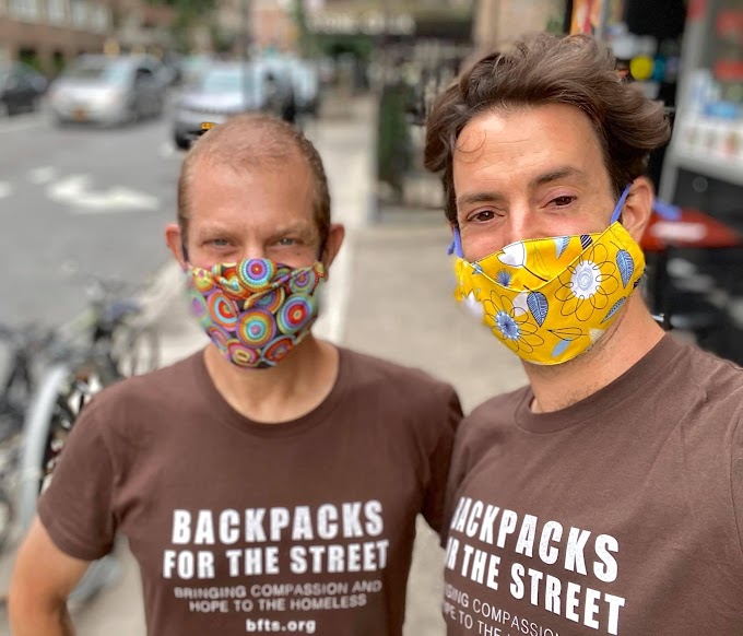 TREND ESSENCE: NYC couple has given 10,000 backpacks, 200 gallons of sanitizer to homeless during pandemic