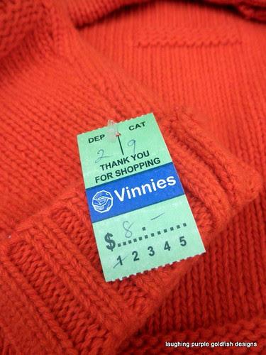 burnt orange jumper