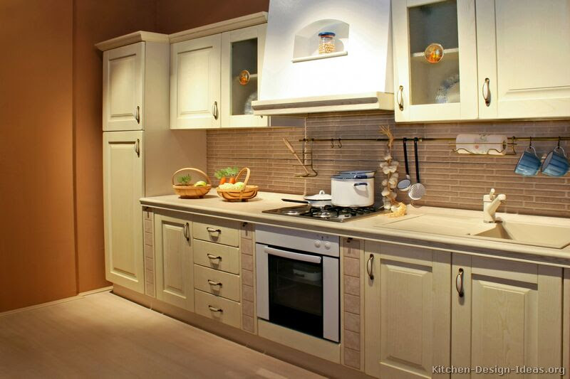 Pictures of Kitchens - Traditional - Whitewashed Cabinets ...