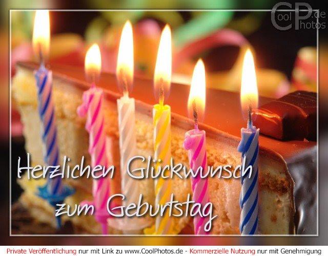 Мордочка, открытка на немецком с днем рождения с из листьев