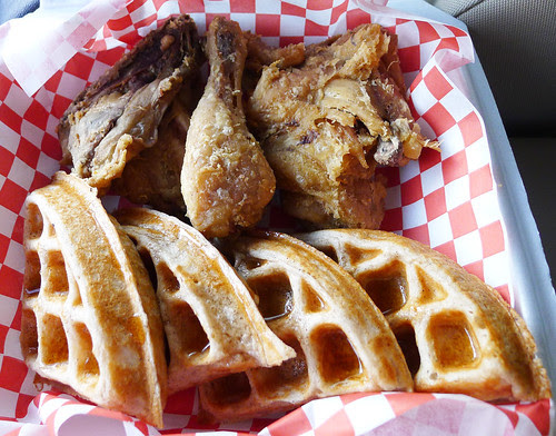 yardy's chicken and waffles