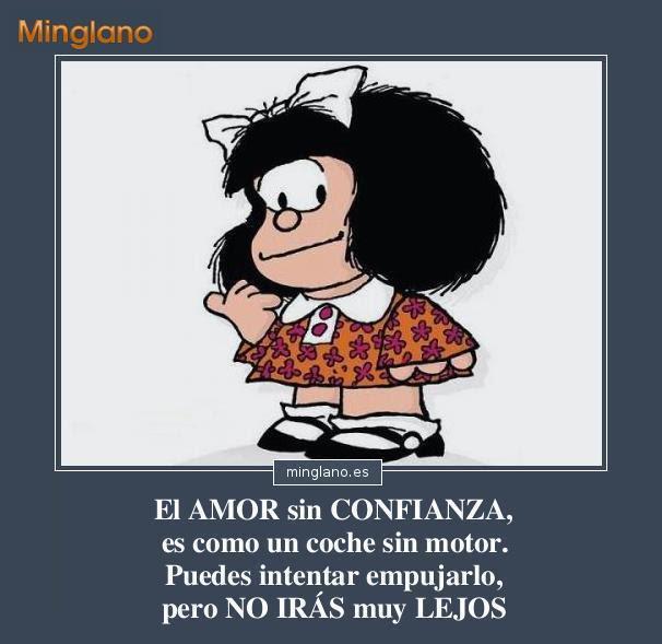 Frases De Mafalda Sobre El Amor Con Imagenes