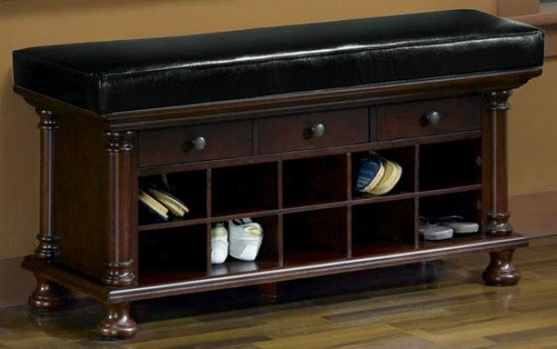 Entryway Storage Shoes | Interior Decorating Tips