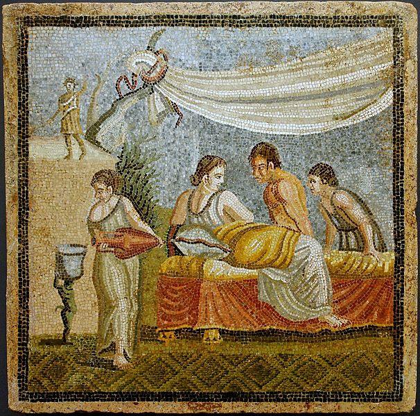 File:Roman mosaic- Love Scene - Centocelle - Rome - KHM - Vienna.jpg
