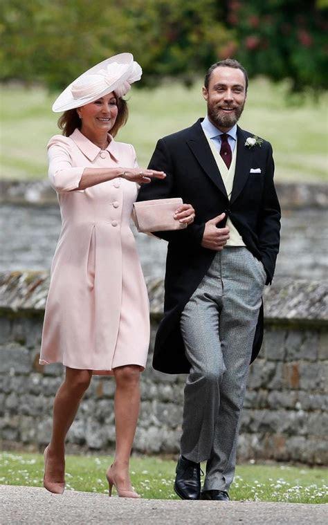 Carole Middleton wears Catherine Walker & Co. to Pippa