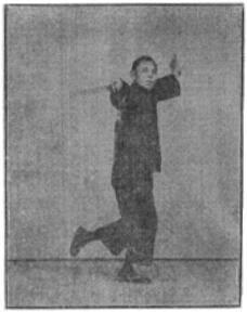 《昆吾劍譜》 李凌霄 (1935) - posture 65