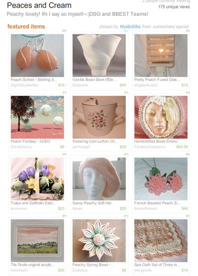 Peaces & Cream Treasury