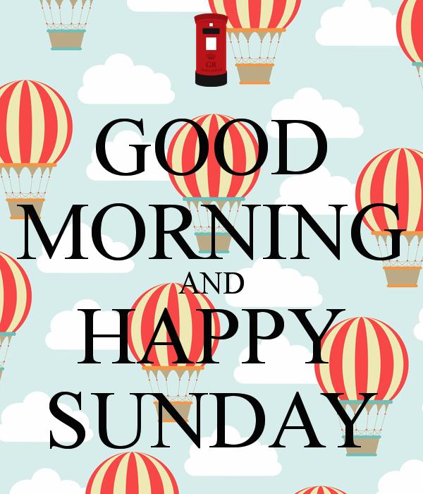 27 Sunday Morning Images