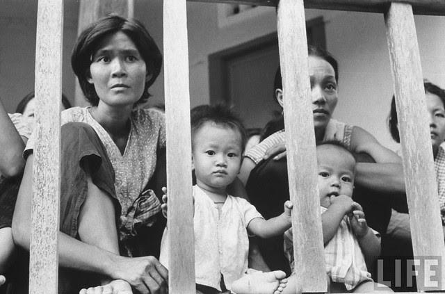 In Pnompenh, Cambodia - Vietnamese living in Cambodia await interrogation in Church (7)