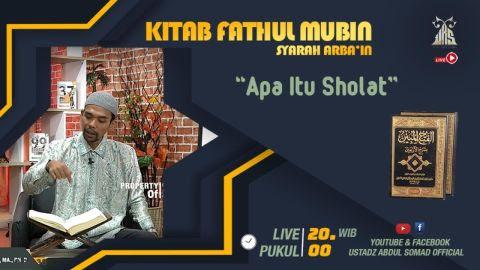LIVE STREAMING - Kajian Kitab Fathul Mubin | | Apa Itu Sholat? | | Live - Pekanbaru