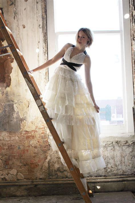 Emma's DIY Wedding Dress   A Beautiful Mess