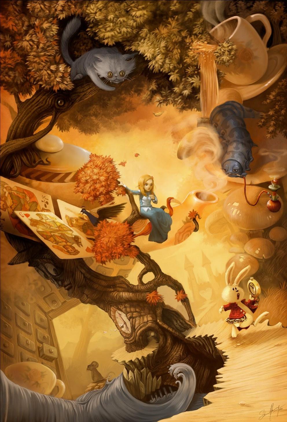 Concept Art: Alice in Wonderland - 2D Digital, Concept art ...