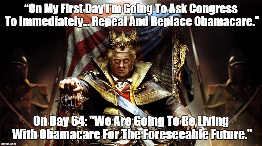 Image result for pax on both houses, trump obamacare