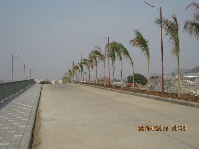 Ramp at Sangria Towers at Megapolis Hinjewadi Phase 3, Pune