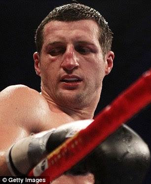 Bounce back: Froch says he has 'a lot to prove' when he fights Bute