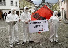 Διαμαρτυρία χθες στην Ελβετία για τα πυρηνικά