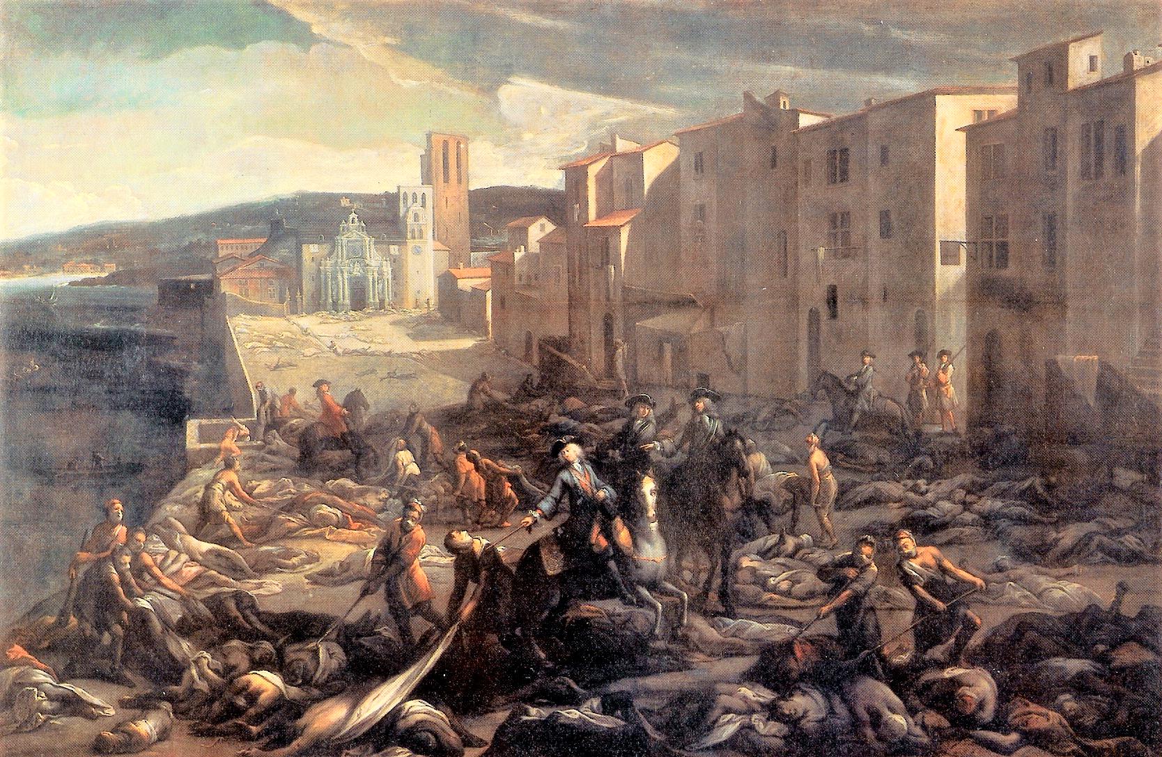 Peste de Marseille 1720