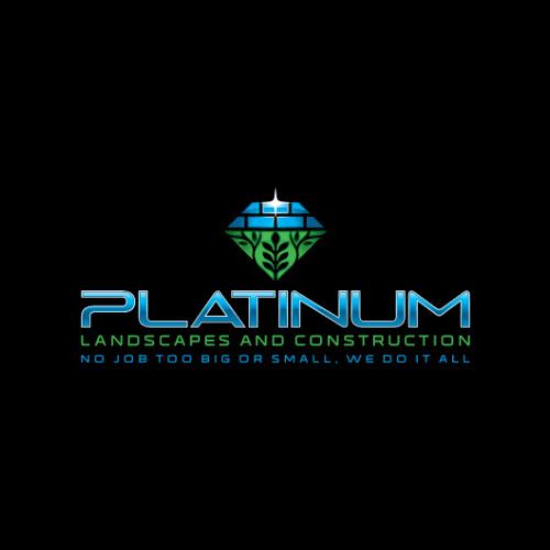 Platinum Landscapes And Construction Sydney Logos Logo Design Sydney Graphic Designers Sydney Web Designers Sydney Contact Us Now 02 8960 4377