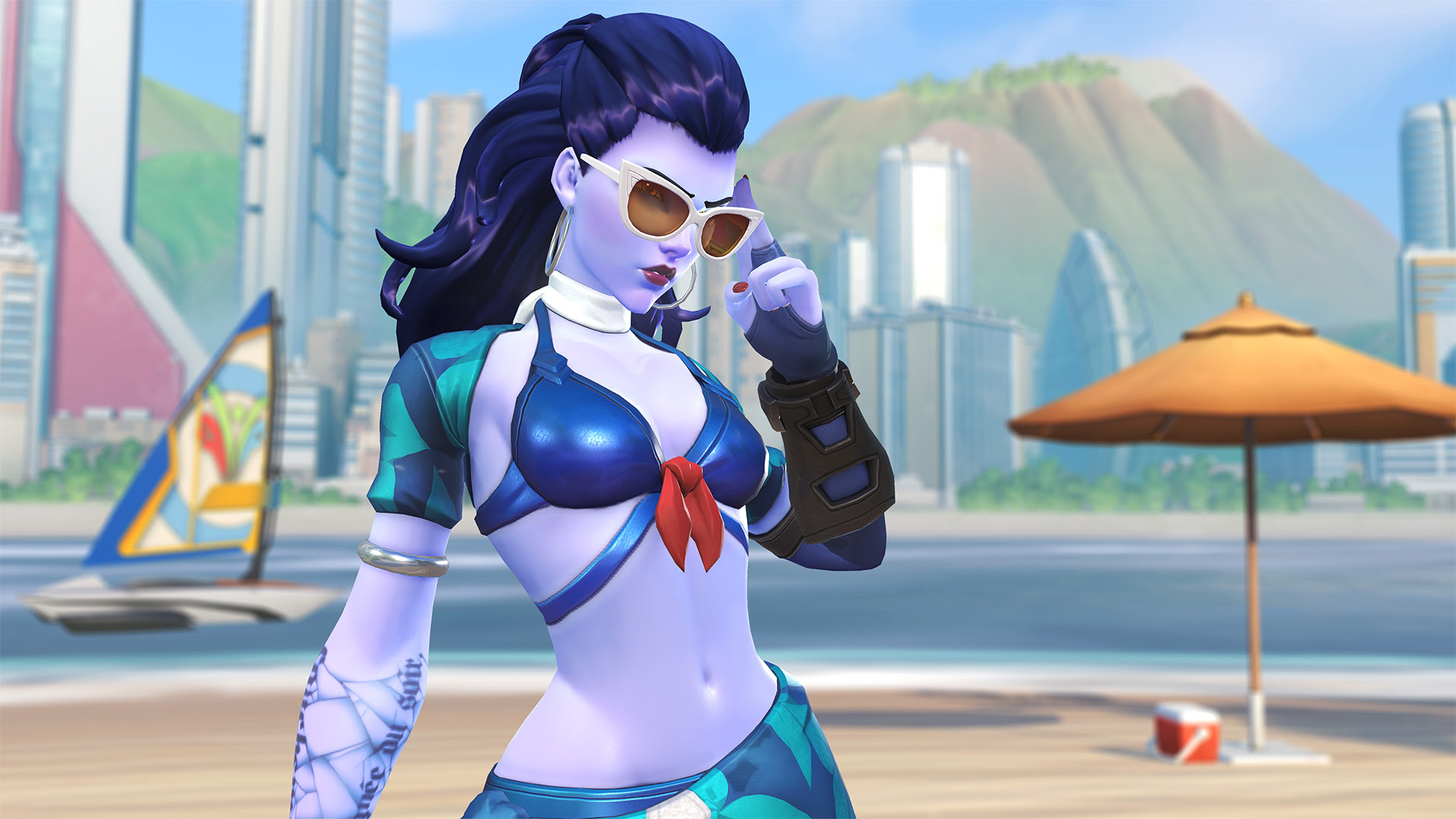 Overwatch just kicked off its Summer Games event screenshot