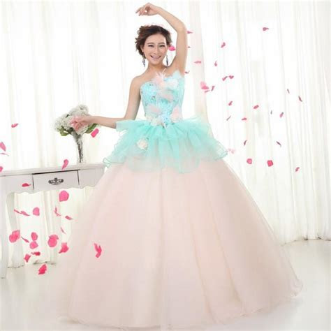 Colored wedding dresses plus size   PlusLook.eu Collection