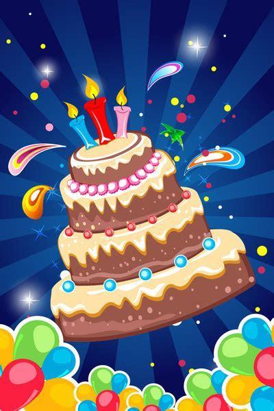 Birthday tarpaulin background free vector download (50,874