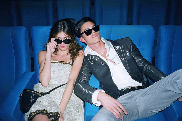 Elisa Sednaqui and Baptiste at Chanel Cruise - Joie de Vivre ... Photo by Bella Howard