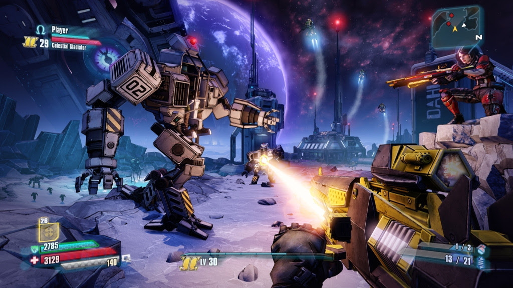Borderlands The Pre Sequel (2014) Full PC Game Single Resumable Download Links ISO