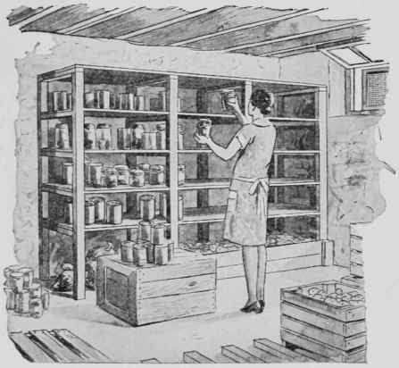 Storage For Garden Produce