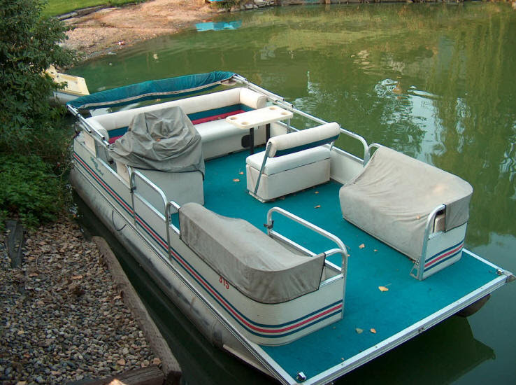 1997 MISTY HARBOR, VERY GOOD CONDITION, NEVER TRAILERED, WAS ON