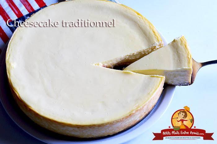 Recette Du Cheesecake Traditionnel Petits Plats Entre Amis