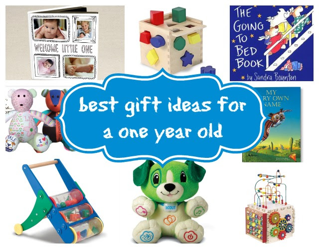 My Top Gift Ideas For A One Year Old Baby Dickey Mom Blog