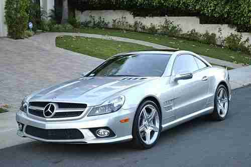 Buy used 2009 Mercedes SL550 Silver Arrow anniversary ...