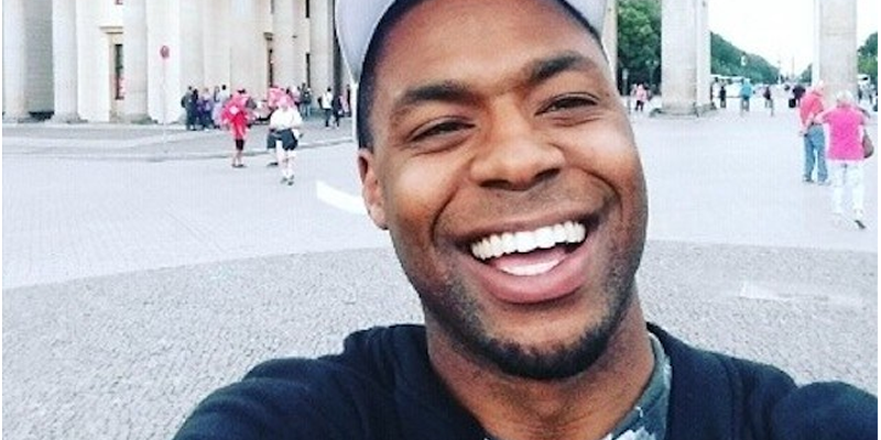 Face Of Nigerian Man Who Destroyed Seven Nigerian Embassy Cars In London