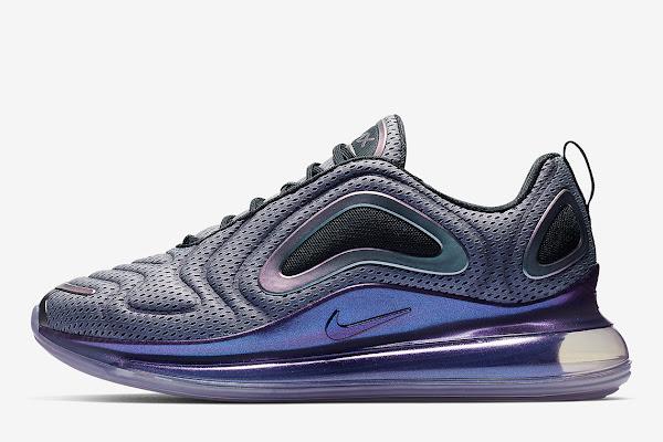 "timeless design 10a34 f9cca The Nike Air Max 720 ""Aurora Borealis"" Features An Iridescent Glow"