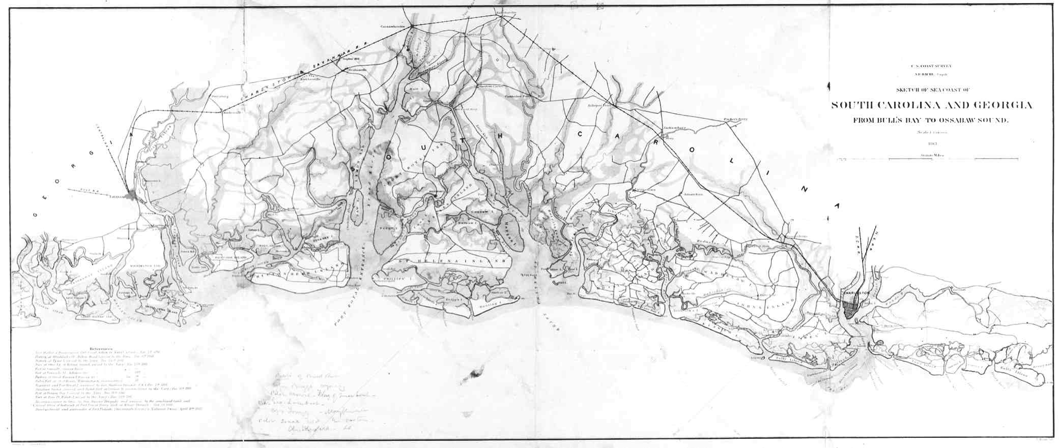 Image Result For Map Of South Carolina Coastal Cities