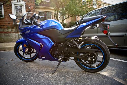 Fs Washington Dc 2009 Blue Kawasaki Ninja 250r 3400