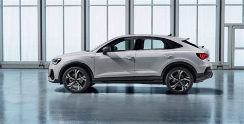 audi  sportback debuts  coupe  styling