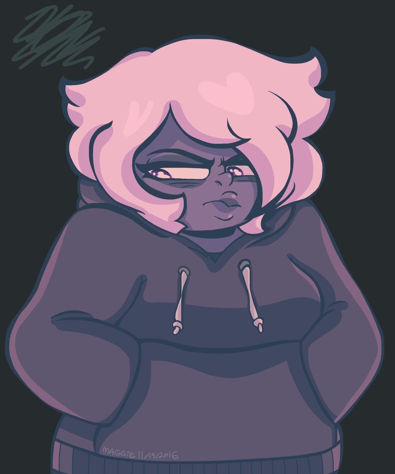 pouty ame