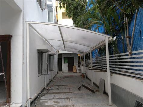 poly carbonate sheet car parking de fabritech india homify