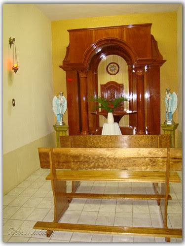 Altar lateral da Igreja de São Sebastão - Lima Campos/CE