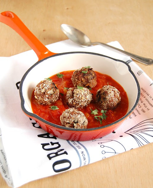 Meatballs - Jamie's and mine / Almôndegas - do Jamie e minhas