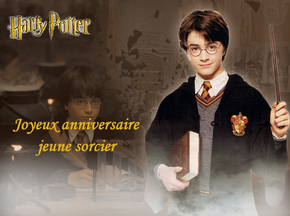 Carte Bon Anniversaire Harry
